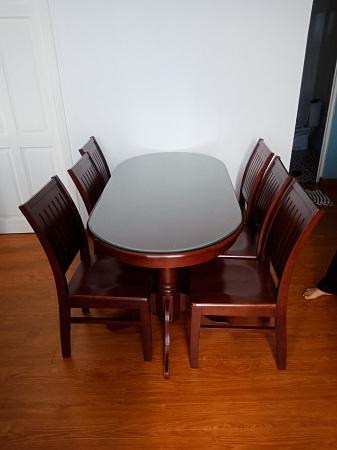 Bộ bàn ăn cũ SP013452