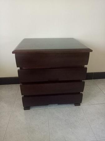 Tủ đầu giường cũ SP013504