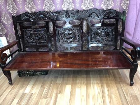 Băng sofa gỗ  cũ SP013534