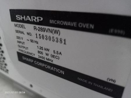 Lò vi sóng SHARP R-289VN cũ SP016045