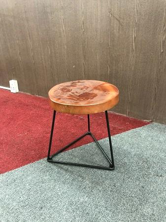 Ghế cafe gỗ tự nhiên cũ SP016074