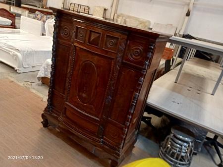 Bàn thờ gỗ tự nhiên cũ SP016093