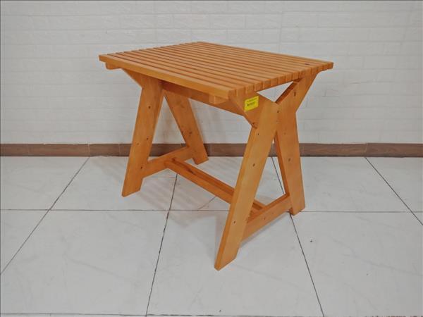 Bàn cafe gỗ thông UMA cũ SP009651