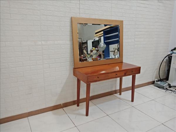 Bàn trang điểm gỗ thông cũ SP009370.1