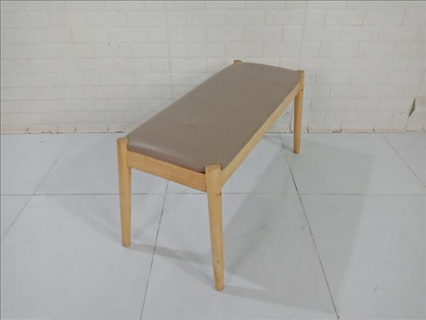 Băng ghế gỗ cao su cũ SP009394