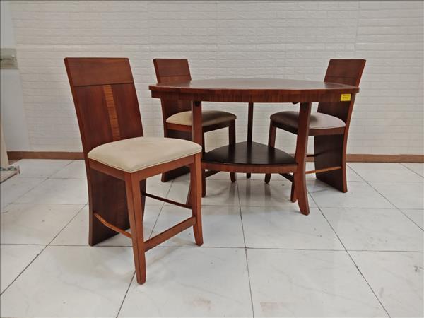 Bộ bàn ăn gỗ cũ SP009335
