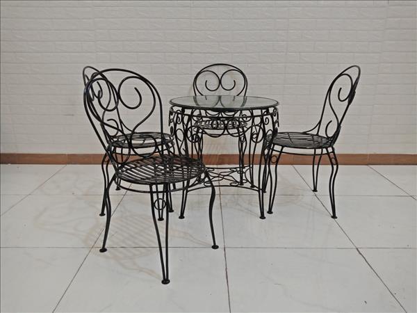 Bộ bàn trà cũ SP009362