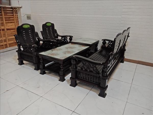 Bộ sofa gỗ cũ SP009288