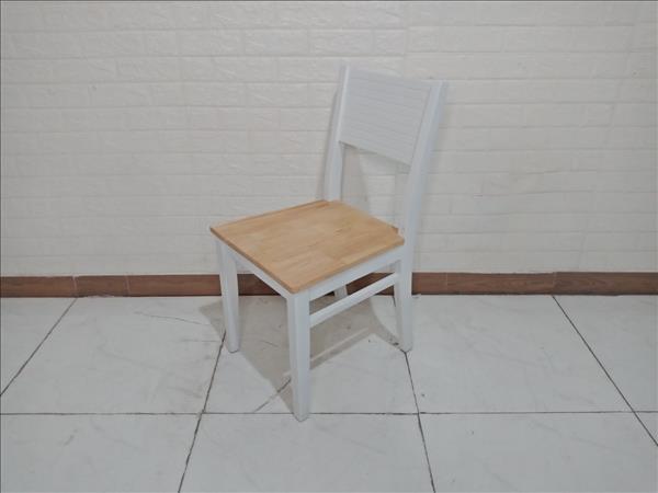 Ghế bàn ăn gỗ cao su cũ SP009654.2