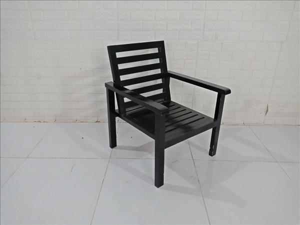 Ghế cafe gỗ thông cũ SP009631