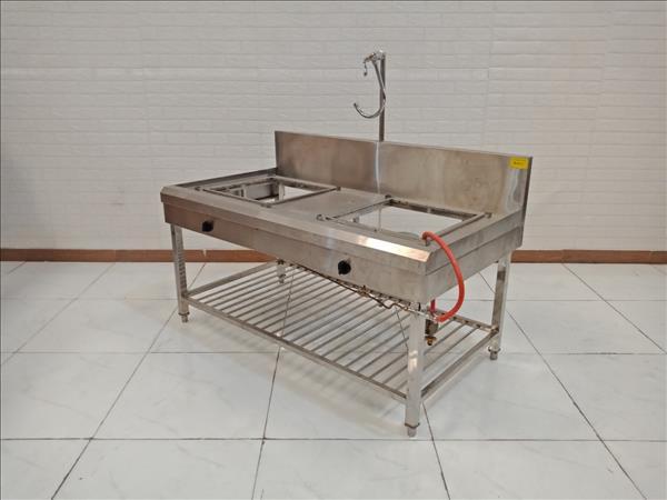 Kệ bếp inox cũ SP009323