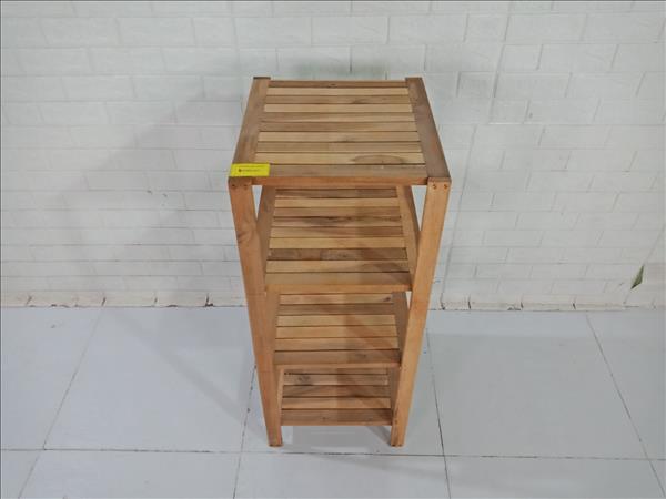 Kệ sách gỗ cao su cũ SP009391