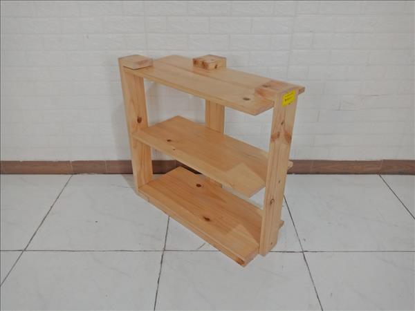 Kệ sách gỗ cao su cũ SP009659