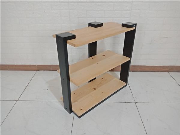 Kệ sách gỗ cao su cũ SP009660