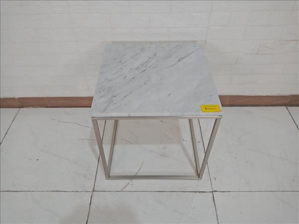 Bàn cafe mặt đá cũ SP009656