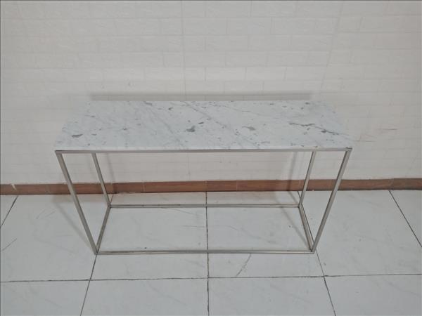 Bàn trang trí mặt đá cẩm thạch SP009657.1