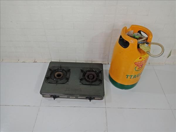 Bình + bếp gas Rinnai cũ SP009322