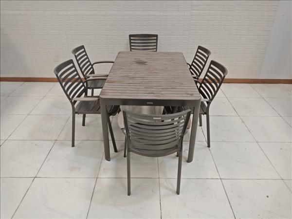 Bộ bàn ăn Lifestyle Garden cũ SP009337