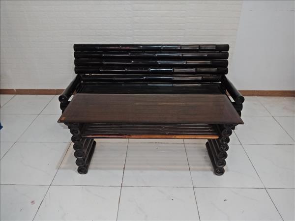 Bộ sofa bằng tre cũ SP009417