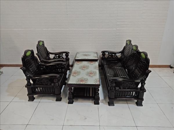 Bộ sofa Zhongnan gỗ Xoan đào cũ SP009288