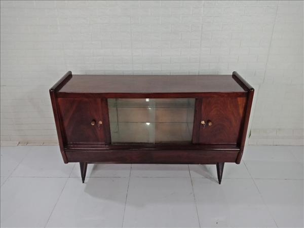 Tủ búp phê gỗ Gõ đỏ cũ SP009385