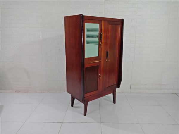 Tủ quần áo gỗ Gõ đỏ cũ SP009384