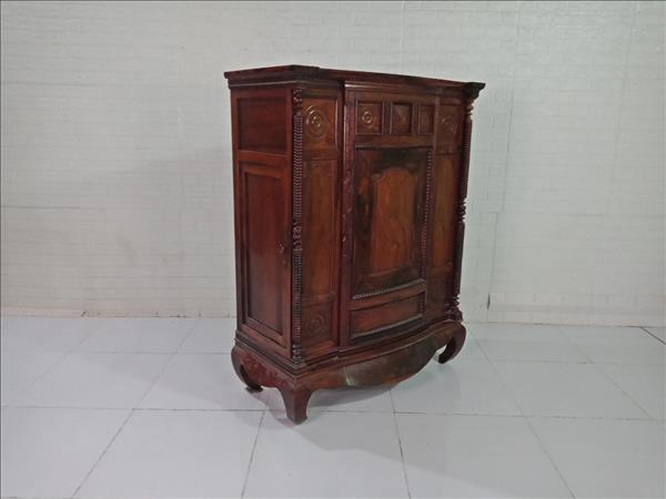 Tủ thờ gỗ Cẩm lai cũ SP009533