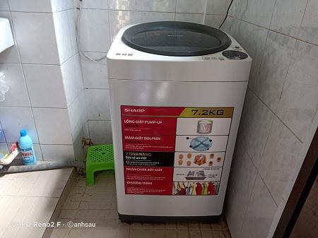 Máy giặt Sharp 7.2 kg ES-U72GV cũ SP013900