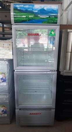 Tủ mát Sanaky 240 lít VH-308W cũ SP013730