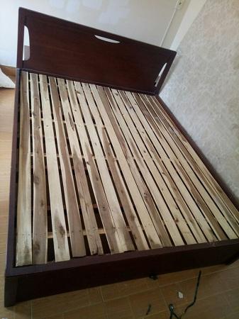 Giường gỗ tự nhiên cũ SP013747.2
