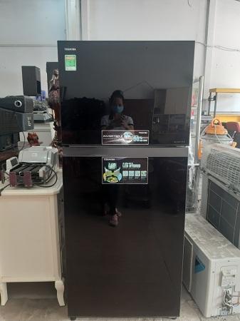 Tủ lạnh Inerter Toshiba 359 lít GR-TG41VDPZ cũ SP013863