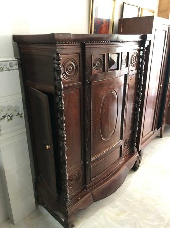 Tủ thờ gỗ tự nhiên cũ SP013903