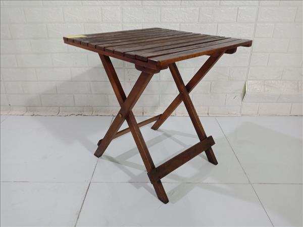 Bàn cafe gỗ cao su cũ SP009865