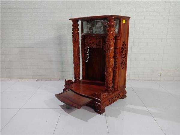 Bàn thờ ông địa gỗ Muồng cũ SP009793