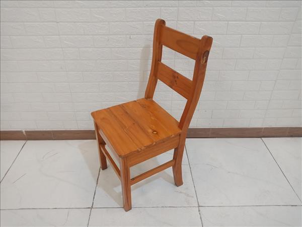 Ghế ăn gỗ thông cũ SP010128