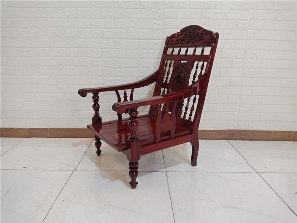 Ghế bàn trà gỗ Gõ đỏ cũ SP009728