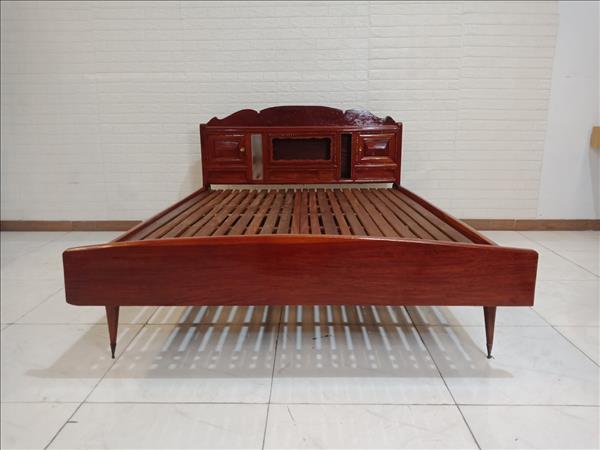 Giường gỗ Căm xe cũ SP009727