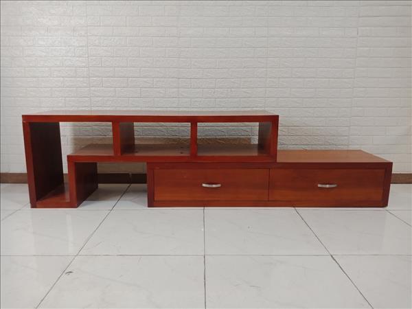 Kệ tivi gỗ cao su cũ SP009822
