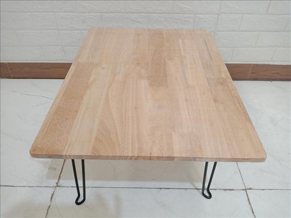 Bàn bệt gỗ cao su cũ SP009969