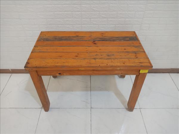 Bàn ăn gỗ thông cũ SP010127