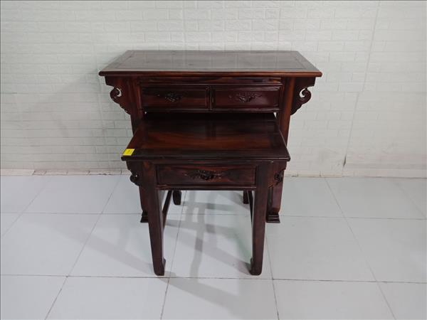Bàn thờ gỗ Muồng đen cũ SP009790