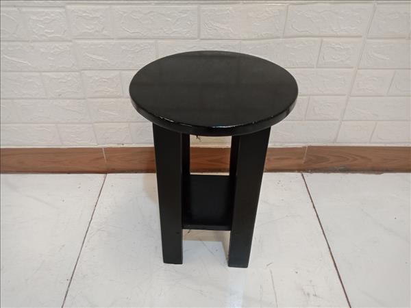 Ghế đôn gỗ thông cũ SP010012