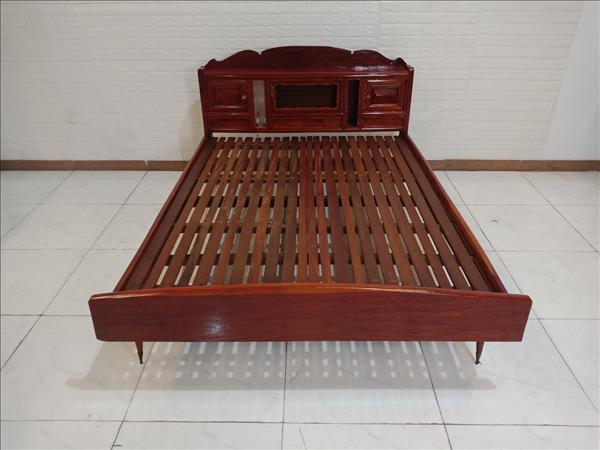 Giường gỗ Căm xe SP009727