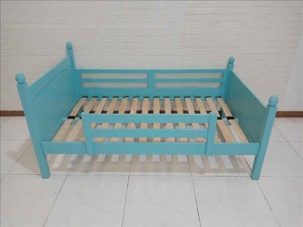 Giường gỗ cao su NanaKids cũ SP009928