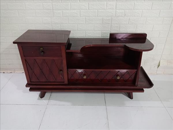 Kệ tivi gỗ Gõ đỏ SP009854