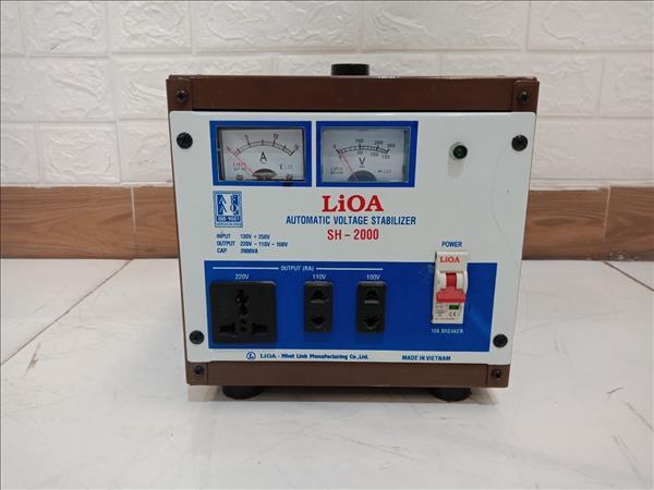 Ổn áp LIOA SH-2000 cũ SP009947