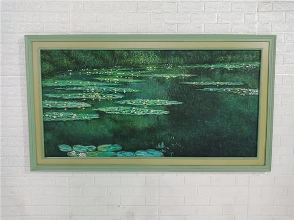 Tranh sơn dầu cũ SP009859.1