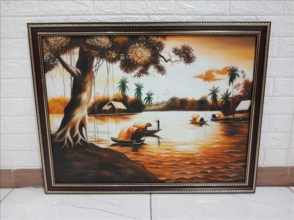 Tranh sơn dầu cũ SP010027.13