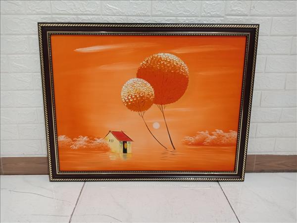 Tranh sơn dầu cũ SP010027.16