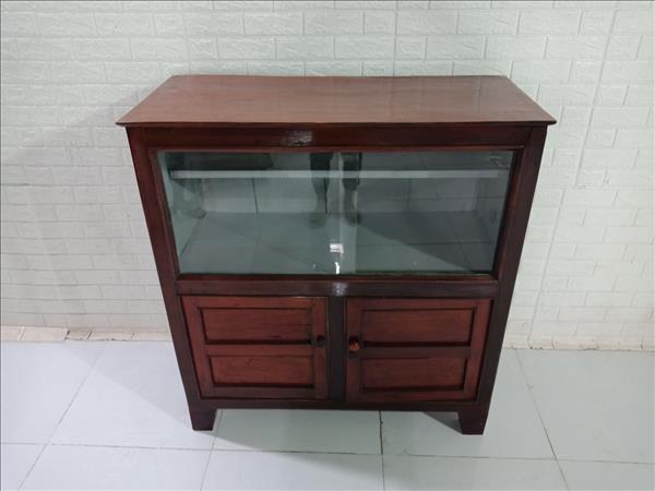 Tủ ly gỗ Gõ đỏ cũ SP009536